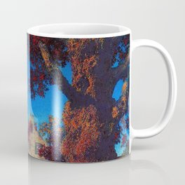 The Little Stone House under the Red Oak Tree by Maxfield Parrish Coffee Mug