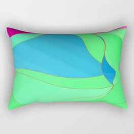 Wavyform 7.2 Rectangular Pillow