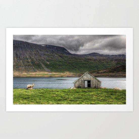 Sheepfold Art Print