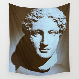 Head of a Goddess - photo Wall Tapestry