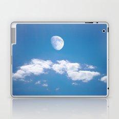 Daytime - Gibbous Moon  Laptop & iPad Skin