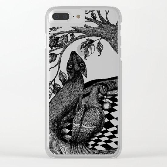 The Golden Apples (1) Clear iPhone Case
