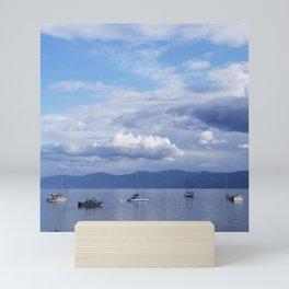 Malasapina Boats Mini Art Print