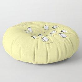 Buchbinden – Heft- und Bindevarianten Floor Pillow