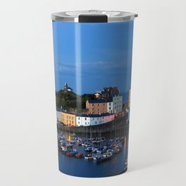 TENBY HARBOUR. PEMBROKESHIRE.WALES. Travel Mug