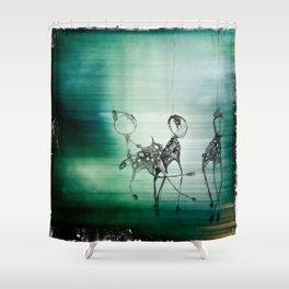 Night Creatures Shower Curtain