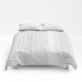 Gray Stripe Pattern Comforters