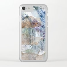 behind a feather tree Clear iPhone Case