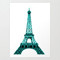 Architecture - Eiffel Tower Art Print