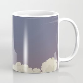 blast off launch pad Shuttle flies into space Coffee Mug