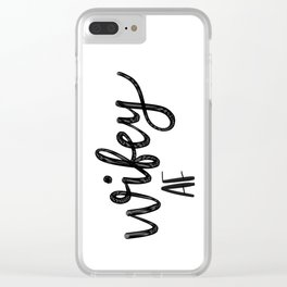 Wifey AF Clear iPhone Case