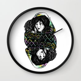 Snake Hug Wall Clock