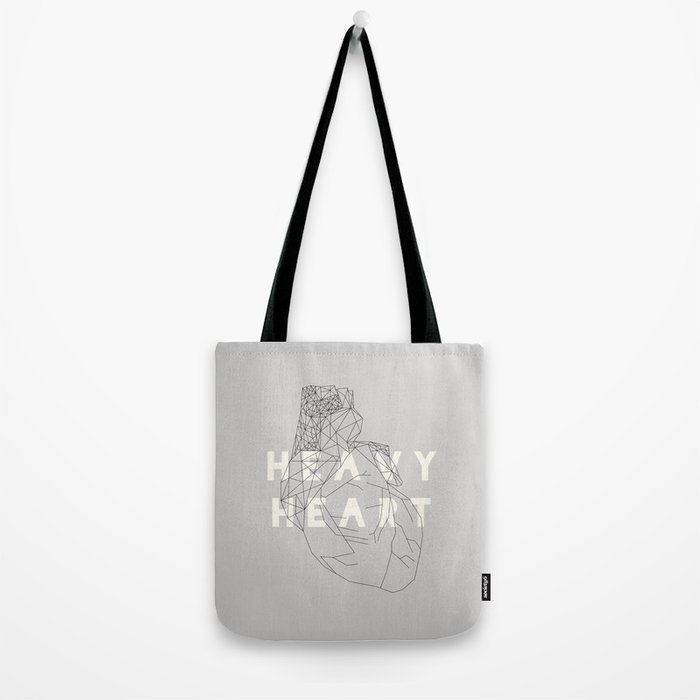 Heavy Heart Tote Bag