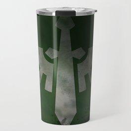 Repent! For tomorrow you die! Travel Mug