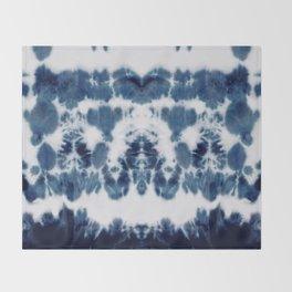 Shibori Not Sorry Throw Blanket