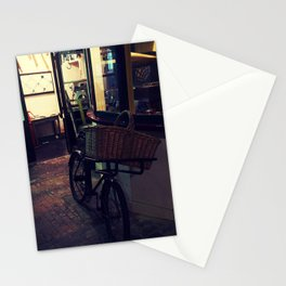Bakers Bike Stationery Cards