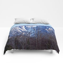 Mountain Crevasses Comforters