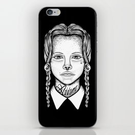 Addams iPhone Skin