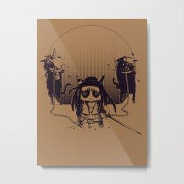Walking grump Metal Print