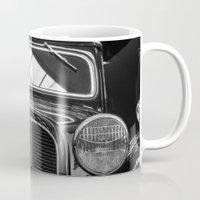 car Mugs featuring Car by Veronika