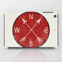 compass iPad Cases featuring Compass by Duke Dastardly