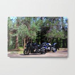 Parked Metal Print