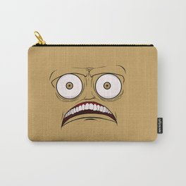 Emotional Concerned Wednesday - by Rui Guerreiro Carry-All Pouch