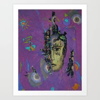 Ego Rising 2 Art Print