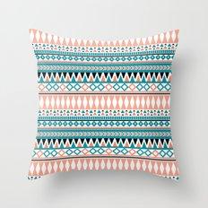 Tribal Triangle Throw Pillow