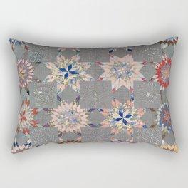 Floral Fabric Vintage Gift Pattern #21 Rectangular Pillow