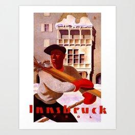 Vintage poster - Innsbruck Art Print