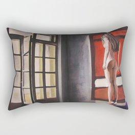 Seven change you Rectangular Pillow