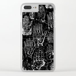 PALMISTRY Clear iPhone Case