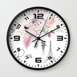 Flowers bouquet #30 Wall Clock