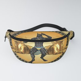 Anubis the egyptian god Fanny Pack