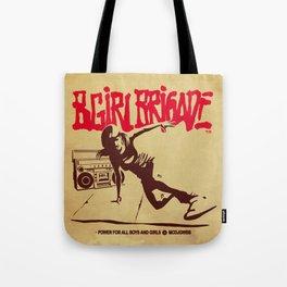 BGIRL BRIGADE Tote Bag