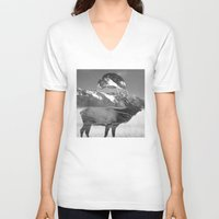 into the wild V-neck T-shirts featuring Wild by ztwede