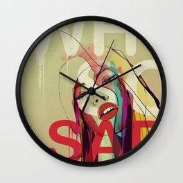 Why So Sad Today ? Wall Clock