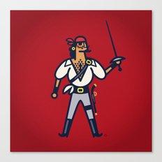 Captain Junco Canvas Print