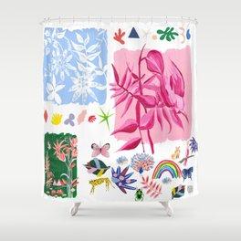 Good mood Shower Curtain