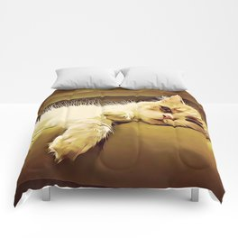 Life Is So Exhausting, I think I'll Just Have A Little Nap Comforters