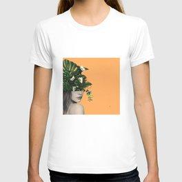 Lady Flowers Vlll T-shirt