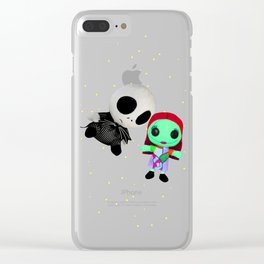 Halloween Babies | Jack | Sally | Christmas | Nightmare Clear iPhone Case