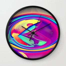 The eye of nosiness Wall Clock