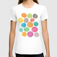 circles T-shirts featuring Circles by Colorshop