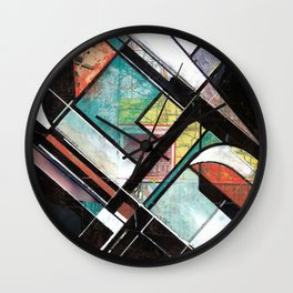 Mapping Moments 001 (Thoughts on Constructivism) Wall Clock