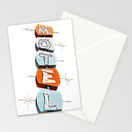 Sue's Motel No. 2 - Just the Sign Stationery Cards