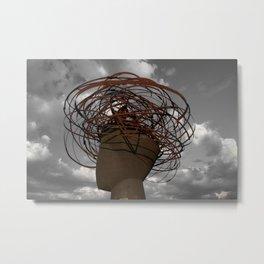 Big head - big memories Metal Print