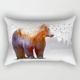 A Wilderness Within / Bear Rectangular Pillow