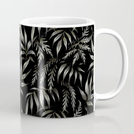 Brooklyn Forest - Black Coffee Mug